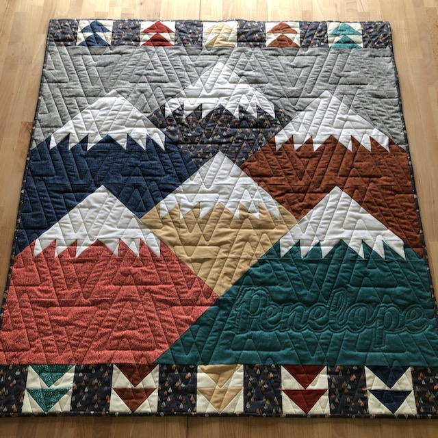Move Mountains Quilt for Penelope