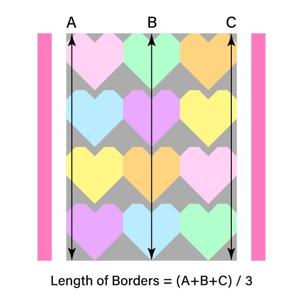 Measure Vertical Borders